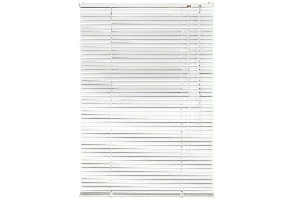 Aluminium-Jalousie, Liedeco, »Jalousie aus Aluminium«, im Fixmaß (1 Stck.) in weiß