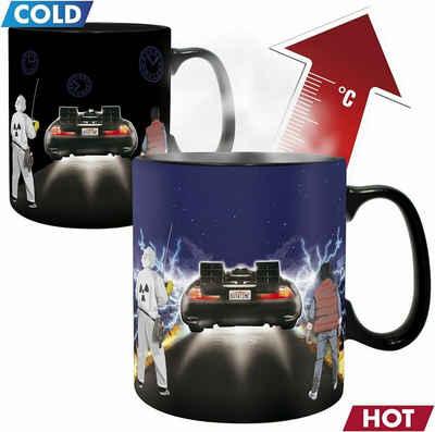ABYstyle Tasse »Zurück in die Zukunft - Back to the future - Thermoeffekt Tasse - Farbwechsel bei Wärme«