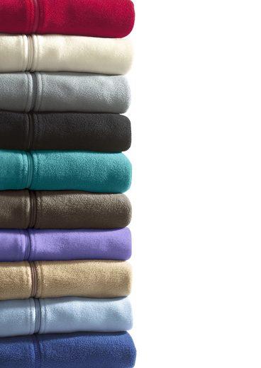 Classic Basics Fleece-Weste mit formgebenden Prinzessnähten
