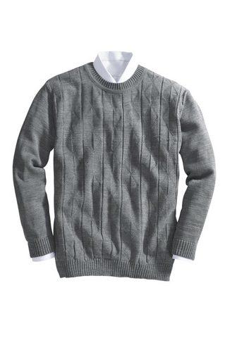 Basics пуловер с классические круглым ...