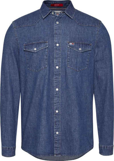 Tommy Jeans Jeanshemd »TJM WESTERN DENIM SHIRT«