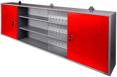 ONDIS24 Werkstatt-Set »Paul«, (Set), 2 Türen, 2 Einlegeböden, Eurolochrückwand