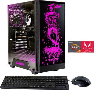 Hyrican Rockstar 6545 Gaming-PC (AMD Ryzen 5 3400G, Radeon Vega 8, 16 GB RAM, 480 GB SSD, Luftkühlung)