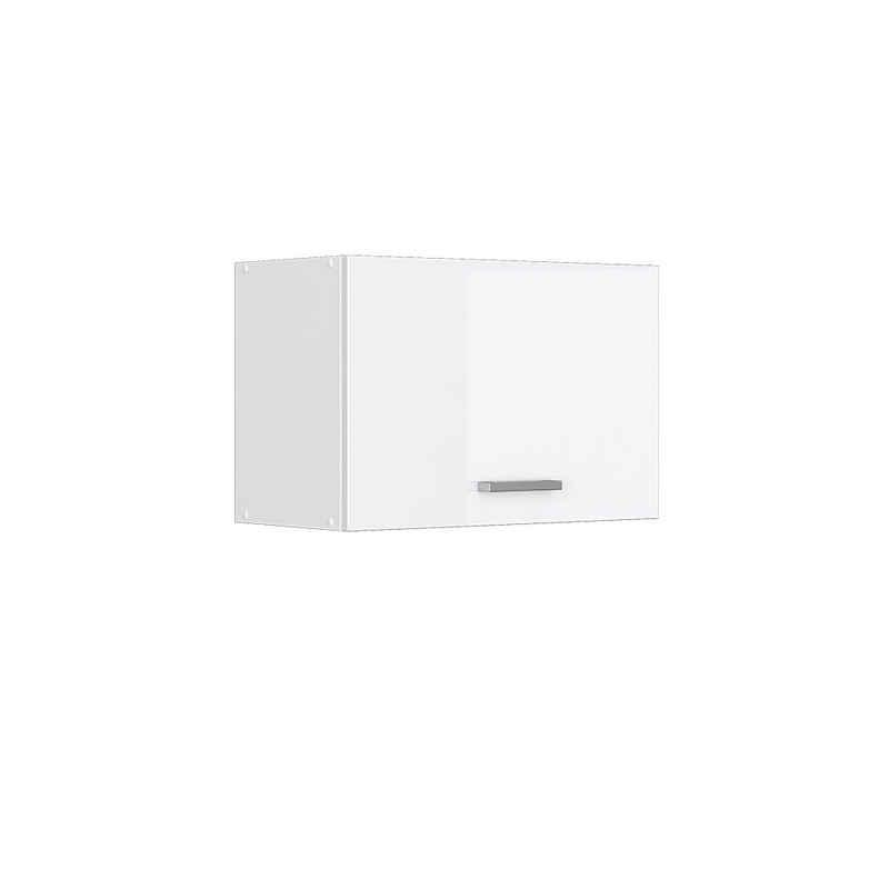 Vicco Hängeschrank »60 (flach) cm Küchenschrank Küchenzeile R-Line Weiß Hochglanz«