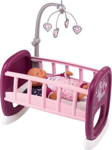 Smoby »Puppenwiege mit Mobile« Puppenhausmöbel
