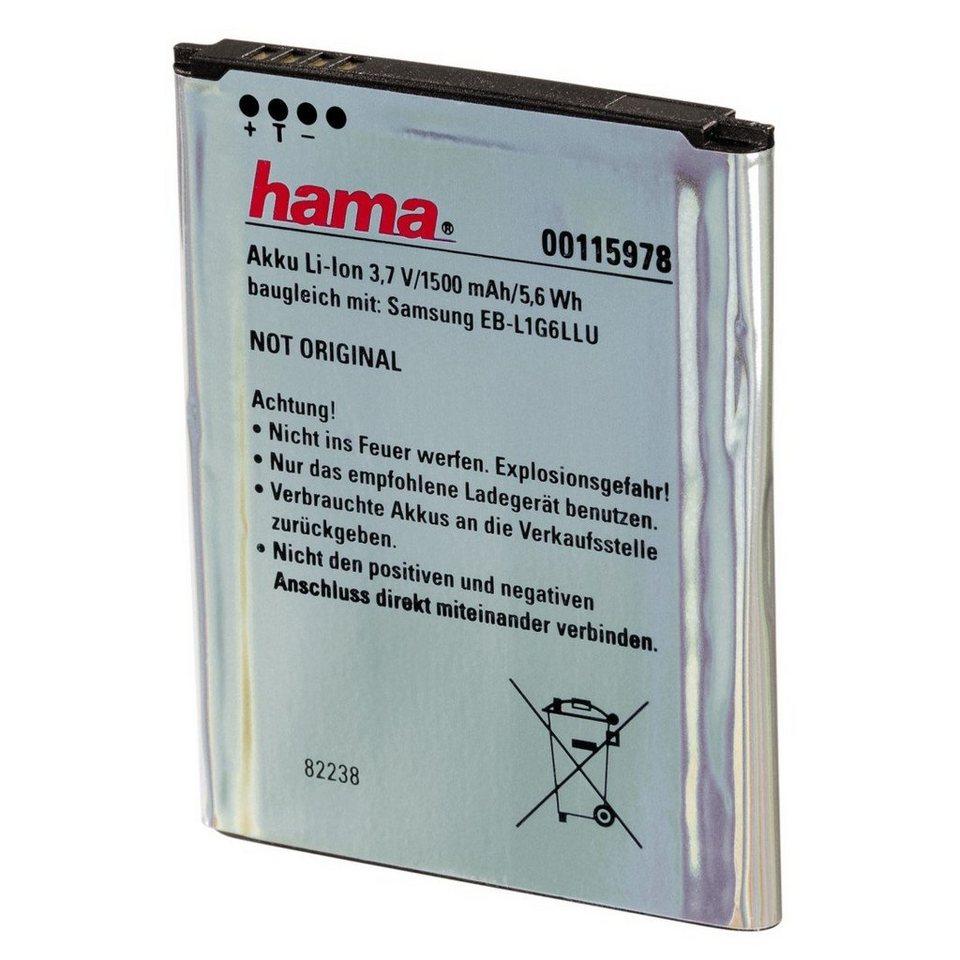 Hama Li-Ion-Akku für Samsung Galaxy SIII in Silber