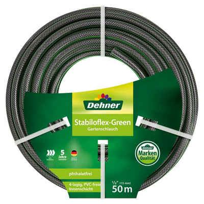 Dehner Gartenschlauch »Gartenschlauch Stabiloflex, flexibel, Kunststoff«