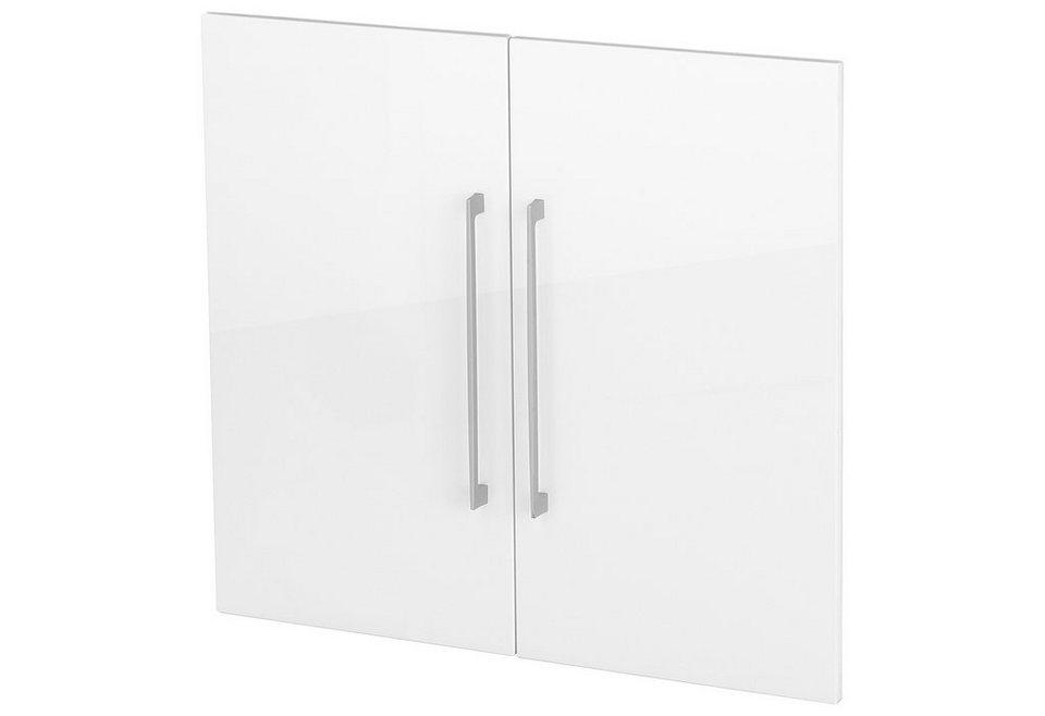 Türensatz »Borkum«, Höhe 71 cm in weiß