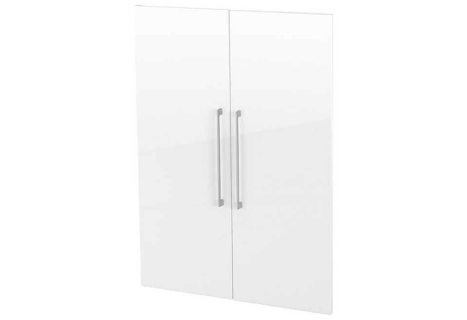 Türensatz »Borkum«, Höhe 106 cm in weiß