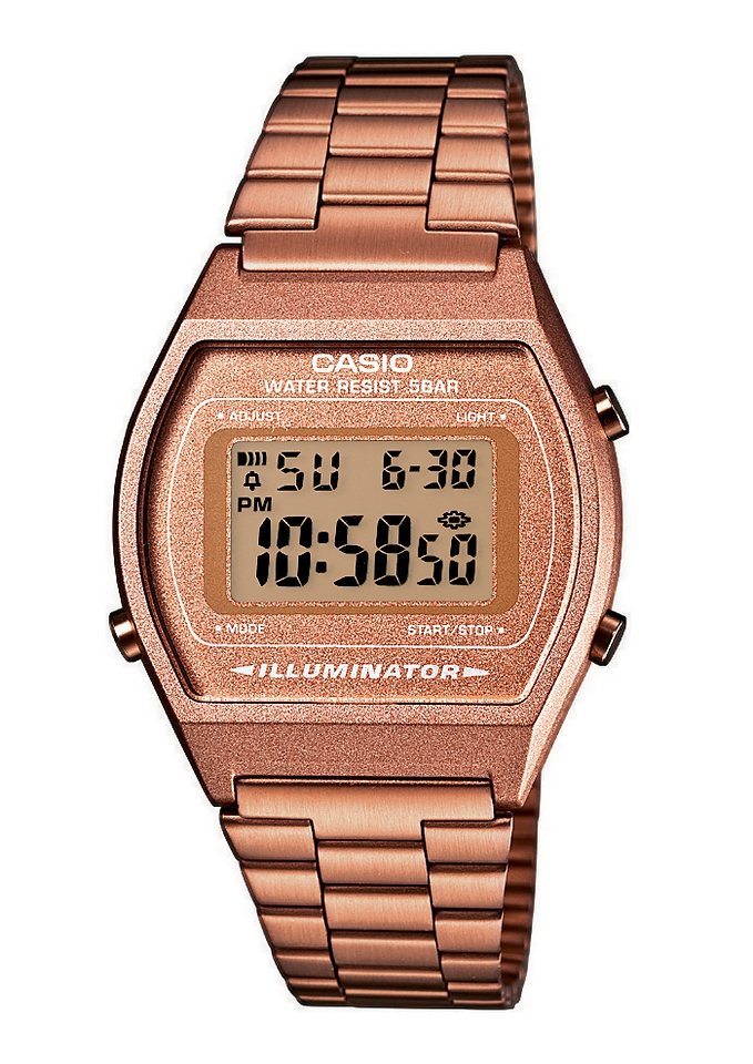 Casio Collection Chronograph »B640WC-5AEF« in roségoldfarben