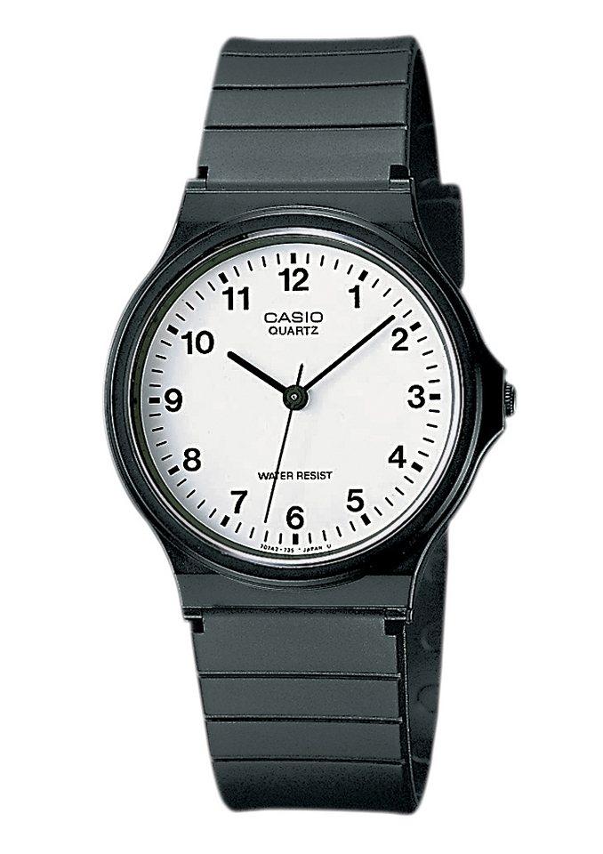 Casio Collection Quarzuhr »MQ-24-7BLLGF« in schwarz