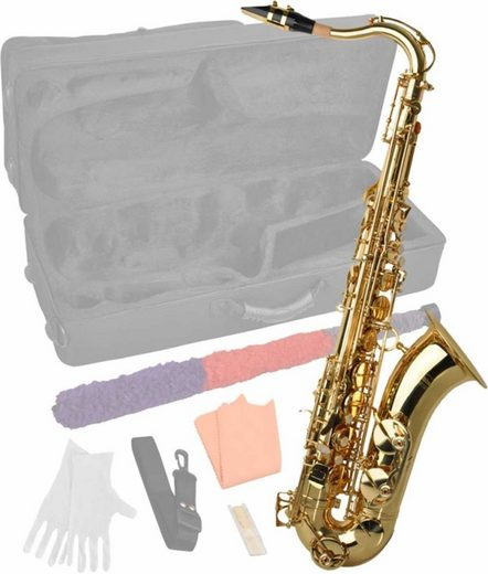 Steinbach Saxophon »Steinbach Bb Tenorsaxophon mit hohem FIS inkl. Koffer«