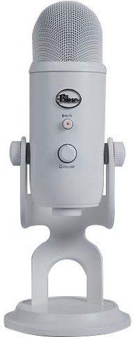 Blue Mikrofon »Yeti USB laikmena Mic WHITE ...