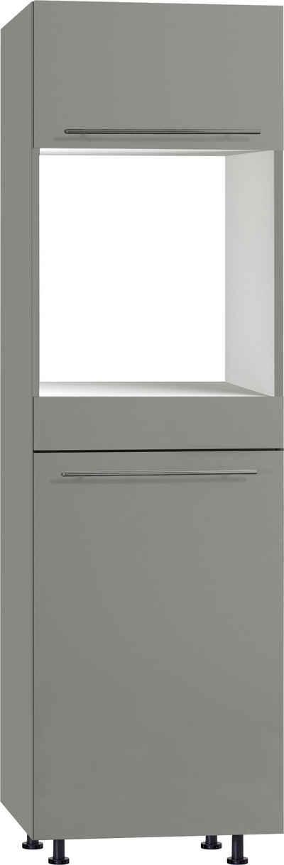 OPTIFIT Backofen/Kühlumbauschrank »Bern« 60 cm breit, 212 cm hoch, mit höhenverstellbaren Stellfüßen, mit Metallgriffen