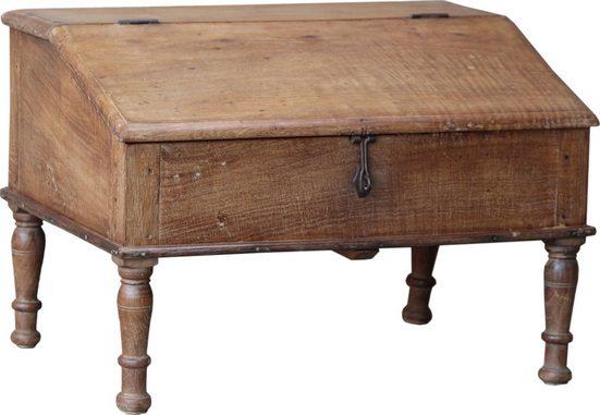 Guru-Shop Schreibtisch »Bodenschreibpult, kleines Schreibpult zum..«