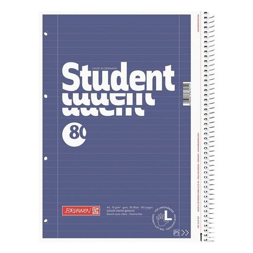 BRUNNEN Collegeblock »Student Linkshänder«