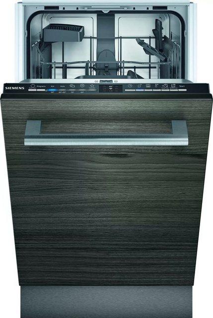 Küchengroßgeräte - SIEMENS vollintegrierbarer Geschirrspüler iQ100, SR61HX12KE, 9 Maßgedecke  - Onlineshop OTTO