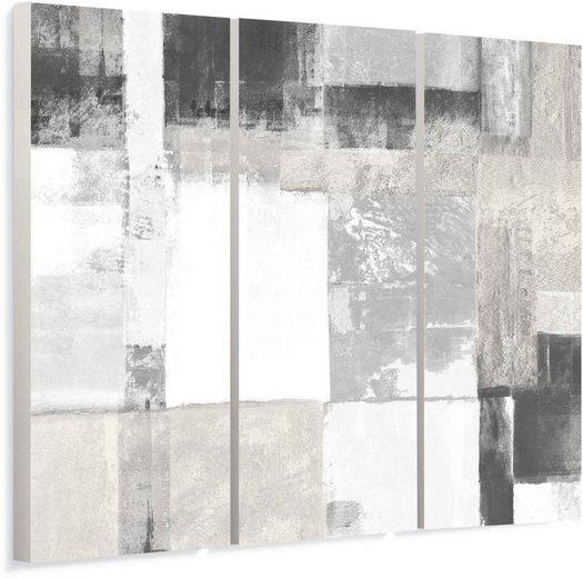 Reinders! Wandbild »Wandbild Helle Quadrate Abstrakt - Minimalistisch - Modern«, Formen (1 Stück)