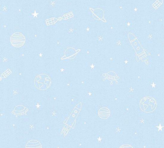 Papiertapete »Kids Tapete Space«