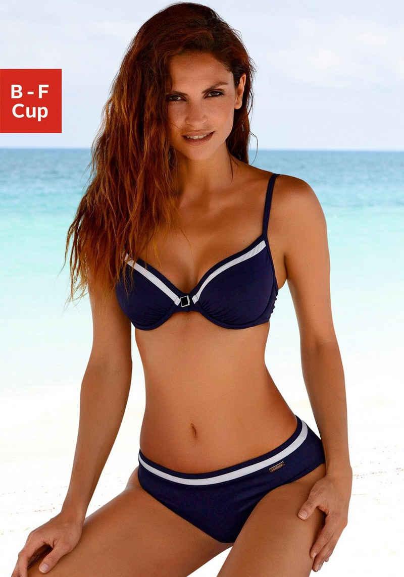 LASCANA Bügel-Bikini mit Kontrastdetails