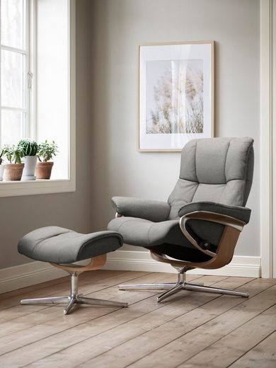 Stressless® Relaxsessel »Mayfair«, mit Cross Base, Größe S, M & L, Gestell Eiche