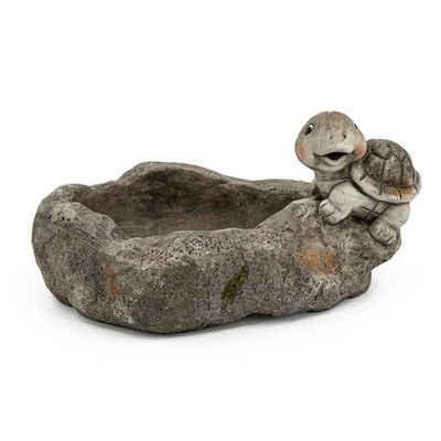 HTI-Living Gartenfigur »Pflanzschale mit Schildkröte Magnesia«