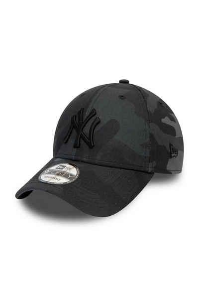 New Era Baseball Cap »New Era League Essential 9Forty Adjustable Cap NY YANKEES Grau Camouflage«