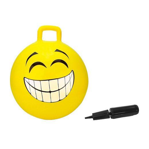Jamara Hüpfspielzeug »Hüpfball Smile blau 450mm«