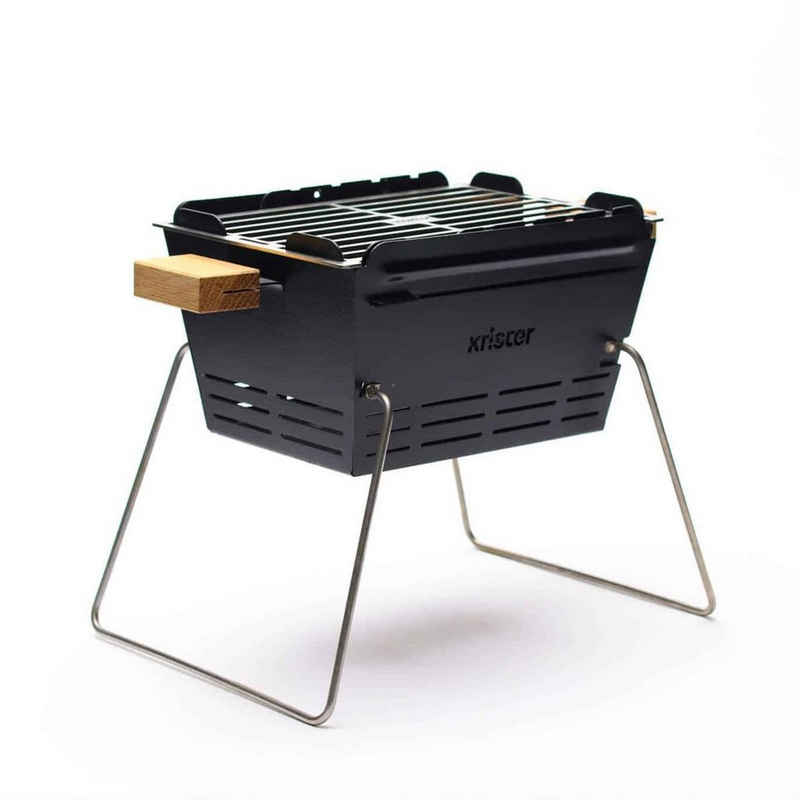 KNISTER Holzkohlegrill »Grill small - mobiler Holzkohlegrill - MADE IN GERMANY«