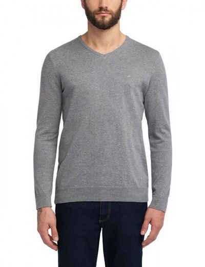 MUSTANG V-Ausschnitt-Pullover »Basic V-Neck Jumper (1006813)«