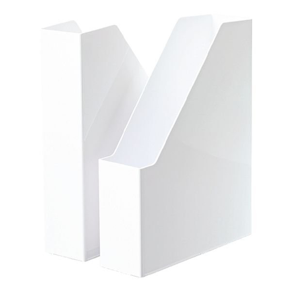 HAN 2er-Pack Stehsammler »iLine« in weiß