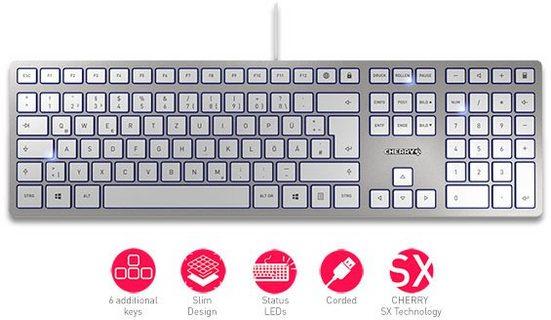 Cherry »KC 6000 SLIM« Tastatur