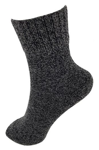 "NEO-24 Thermosocken »Herren Socken ""Top Thermo Uni"" Kuschelsocken« (Einzelpackung, 1-Paar, 1 Paar)"