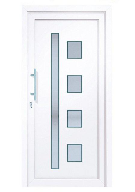 Roro Kunststoff-Haustür »Luxemburg« | Baumarkt > Modernisieren und Baün | RORO Türen & Fenster