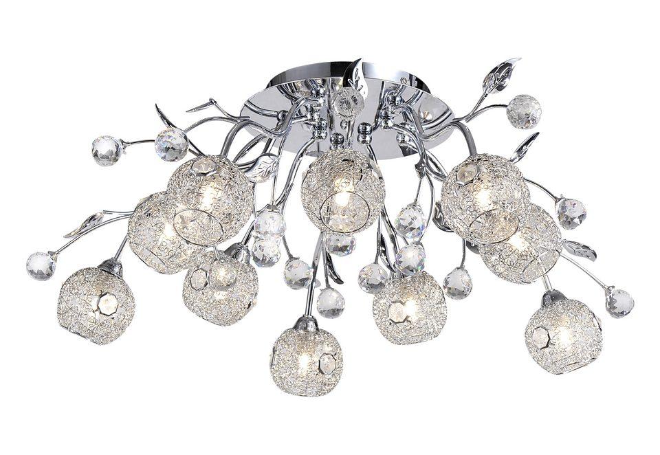 Halogen-Deckenlampe, Paul Neuhaus, »PORTIA« (10flg.)