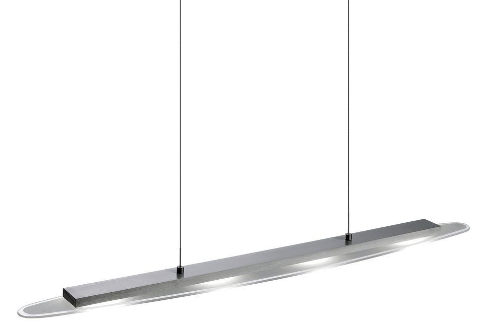 LED-Pendellampe, Leuchten Direkt (4flg.) in silberfarben