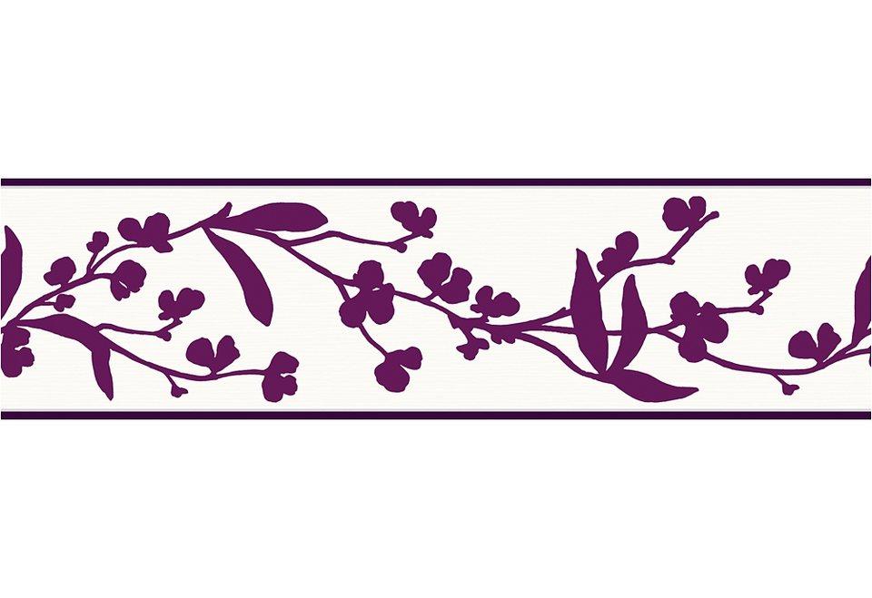 Borte, Schöner Wohnen, »Wonderful Color« in weiß-violett