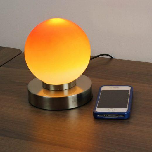 Licht-Erlebnisse Tischleuchte »PRINZ Tischleuchte Touch Dimmer dekorativ Schlafzimmer Lampe«