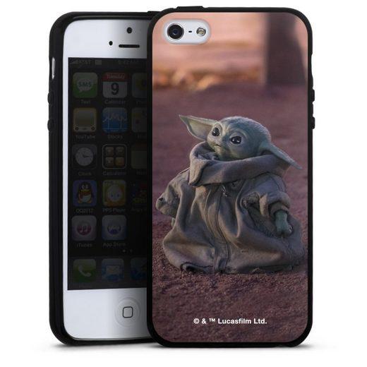 DeinDesign Handyhülle »Star Wars The Child looking up« Apple iPhone 5, Hülle Star Wars The Child Baby Yoda