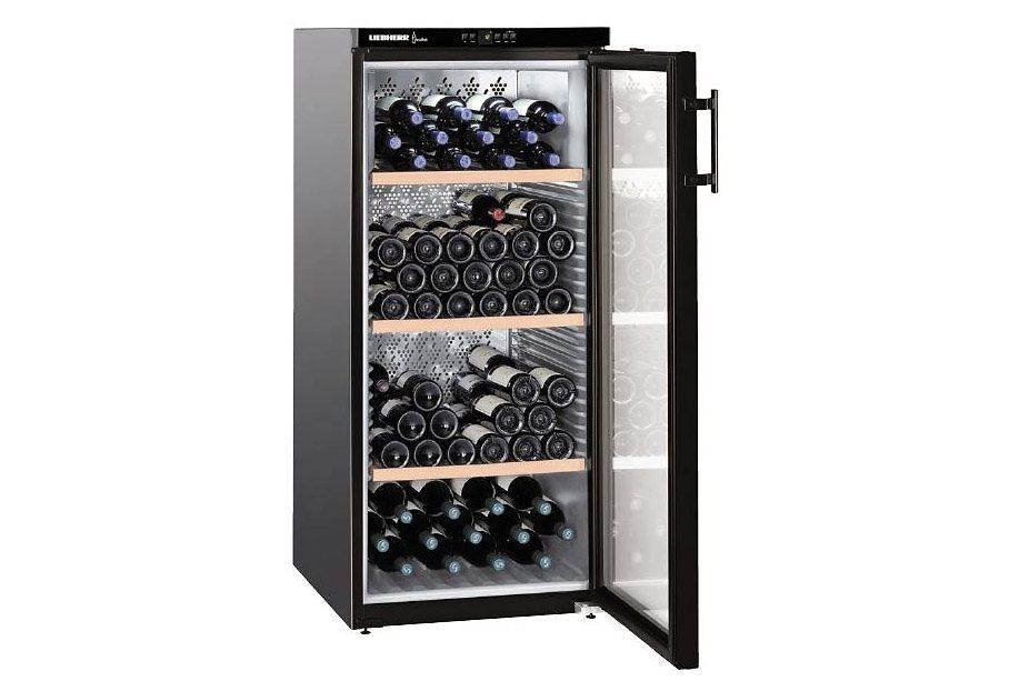 Liebherr Weinkühlschrank Vinothek WKb 3212-20, EEK: A, für 164 Bordeauxflaschen á 0,75l