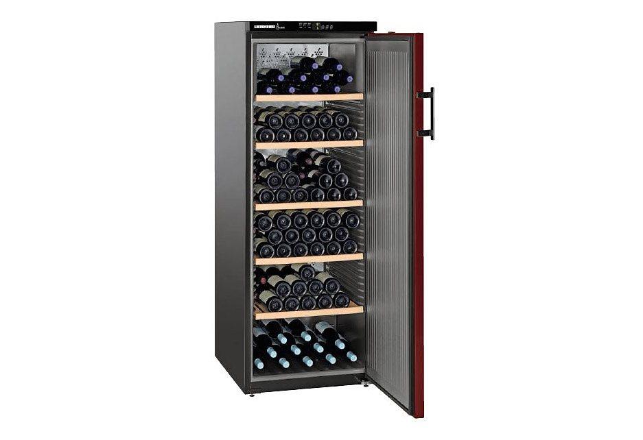 Liebherr Weintemperierschrank Vinothek WTr4211-20, A, 165 cm, für 200 Bordeauxflaschen á 0,75l in bordeaux