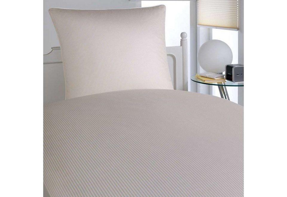 bettw sche elegante hamburger streifen edles design online kaufen otto. Black Bedroom Furniture Sets. Home Design Ideas