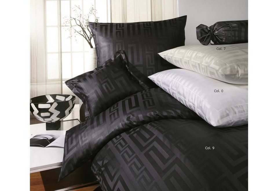 bettw sche elegante charisma mit m ander muster. Black Bedroom Furniture Sets. Home Design Ideas