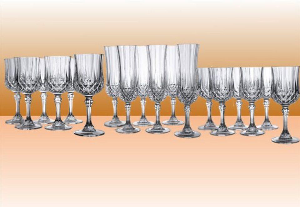 SET: Stielgläser, Cristal D'Arques (18tlg.)