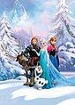Komar Fototapete »Frozen Winter Land«, glatt, bedruckt, Comic, (Set), ausgezeichnet lichtbeständig, Bild 1