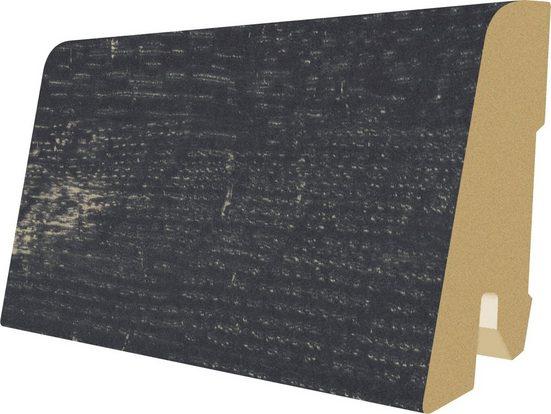EGGER Sockelleiste »L486 - Oldham Eiche schwarz«, L: 240 cm, H: 6 cm