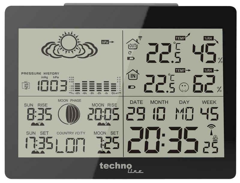 technoline »WS 6760« Wetterstation (inklusive Außensender, übersichtliche Anzeige mit mehreren Info auf einen Blick)