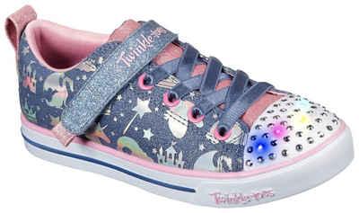 Skechers Kids »SPARKLE LITE-PRINCESSLAND« Sneaker mit changierenden Metallic-Print