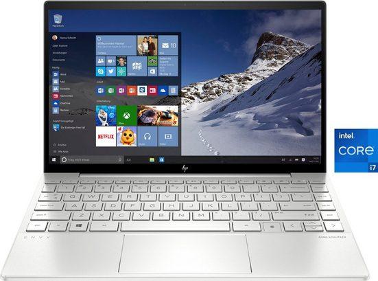 HP 13-ba1276ng Notebook (33,8 cm/13,3 Zoll, Intel Core i7, GeForce MX450, 512 GB SSD, Kostenloses Upgrade auf Windows 11, sobald verfügbar)