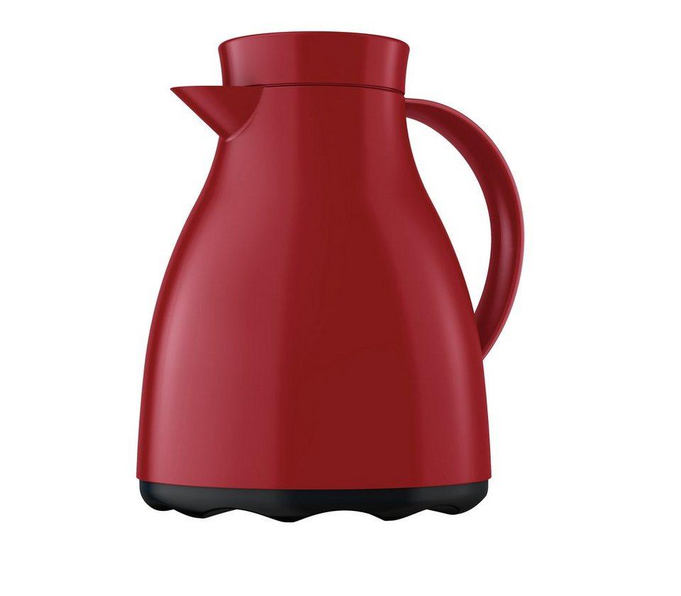 emsa Isolierkanne mit Quick TIP Verschluss »Easy Clean« in Rot